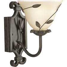 shop progress lighting eden forged bronze bathroom vanity light at