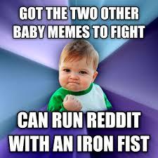 Baby Meme Fist - livememe com success kid