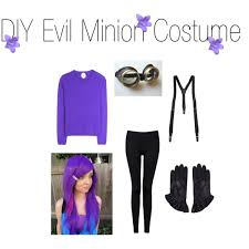 purple minion costume diy evil minion costume polyvore