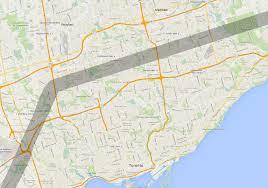 Map Toronto Canada by Line 9 Nexen Map Toronto