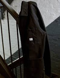 Leather Barn Coat Barn Coat Knickerbocker Mfg Co