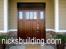 Wood Exterior Doors For Sale Craftsman Style Doors And Shaker Doors For Sale In Pennsylvania