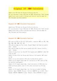 nissan almera immobiliser reset original icc immo calculator by yu cherry issuu