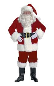 santa costume burgundy velvet santa suit santa supply online