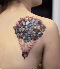 air balloon tattoos are a