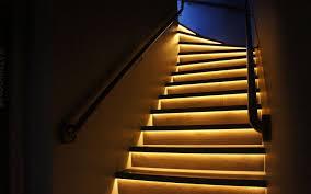 staircase lighting led led light design dramatic look led stair