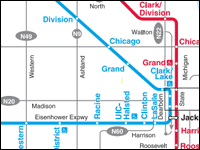 cta line map cta maps and l system maps