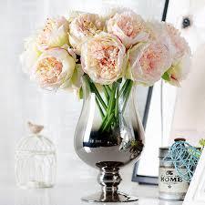 peony bouquet online shop 5 heads artificial flowers peony bouquet silk flowers