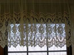 European Lace Curtains Lace Curtains With Valance Can You Tell By The Curtains
