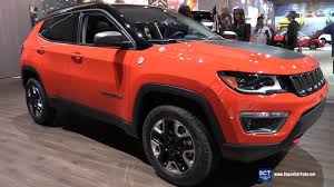 jeep compass trailhawk 2017 interior 2017 jeep compass trailhawk exterior and interior walkaround