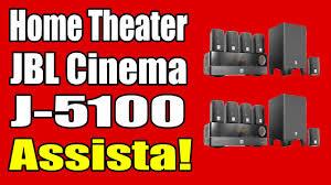 jbl home theater home theater jbl cinema j5100 youtube