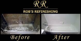 Cast Iron Tub Repair Rob U0027s Refinishing