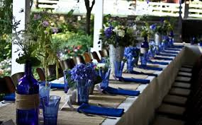 Summer Table Decorations Ideas For Summer Wedding Table Decoration With Colorful Flower