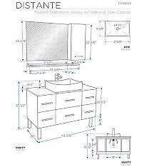 What Is A Bathroom Vanity by What Is Standard Luxury Bathroom Vanity Height Fresh Home Design