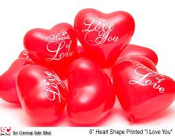 heart shaped balloons 6 15 cm heart shaped balloons buy in kuala lumpur