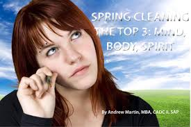 spring cleaning the top 3 mind body and spirit serene scene