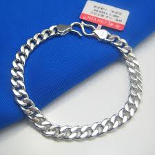 price bracelet images Genuine platinum bracelet men when women silver bracelets chain jpg