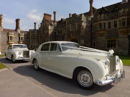 blue girly cars wedding cars for hire from premier carriage wedding transport