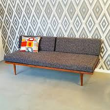 Day Bed Sofa by Mid Century Modern Daybed U2013 Sofa Or Twin Bed Handcrafted In Usa