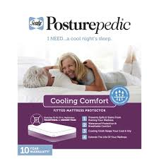 Comfortable Mattress Pad Sealy Posturepedic Cool Comfort Mattress Protector Free Shipping