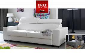 canapé cuir convertible design canapé cuir convertible idées de décoration intérieure decor