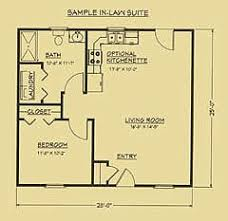 inlaw suite floor plan for in suite g ma cottages mil suites