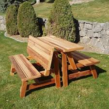 Plans For Building A Picnic Table With Separate Benches by Stylish Picnic Table With Benches Popular Csublogs Com