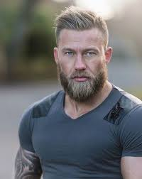 viking hairstyles tatts muscles and beard men s hairstyles pinterest muscles