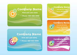 company cards free vectors ui