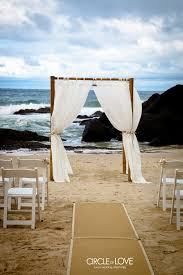 bamboo chuppah circle of weddings real wedding australia coolangatta