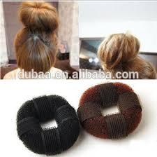hair bun clip black n brown bun sponge hair roller meatball hair clip hair