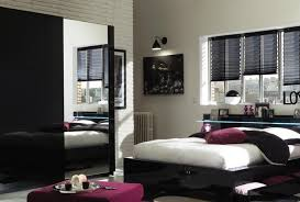 chambre a coucher adulte noir laqué chambre a coucher conforama 2014 idées décoration intérieure