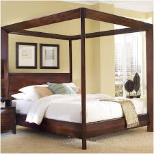 black painted iron wrought king size canopy bed frames of