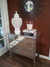 Living Spaces Bedroom Sets Bedroom Elegant Brown Wood Hayworth Nightstand Mirrored Living