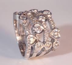 rings diamond design images Waterfall design white gold diamond ring by diamond affair jpg