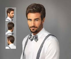 mens hair feathery believable natural looking men s wigs from him by hairuwear