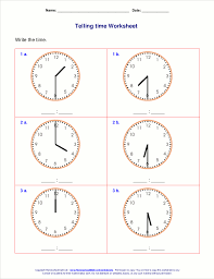 time worksheets 1st grade free worksheets library download and