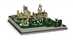lego ideas hogwarts castle miniature model