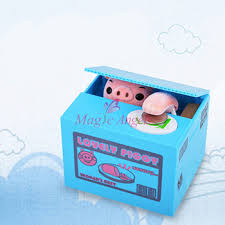 Creative Lovely How To Change by Buy Lovely Blue Piggy Bank Change Bank Box Bank