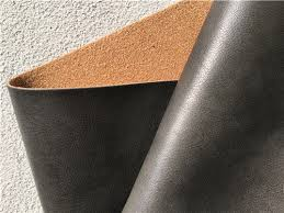 Material For Upholstery Coating Leather Furniture Fabric Dark Brown Leather Fabric For