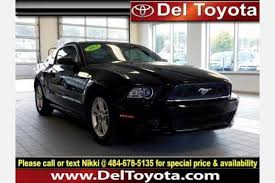 ford mustang 2013 price used ford mustang for sale in chester pa edmunds