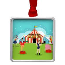 vintage circus ornaments keepsake ornaments zazzle