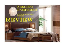 feeling pampered mulburry silk 19 momme charmeuse 4 piece bed