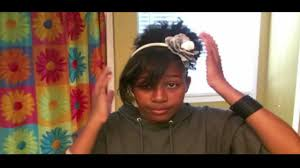 black preteen hair really cute natural hairstyle for teens youtube