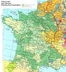 France Germany Map by Internet History Sourcebooks