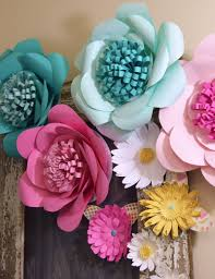 giant paper flowers wall decor giant paper flowers paper flower