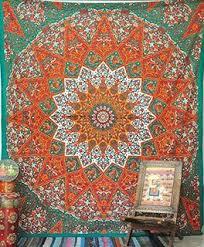 Indian Inspired Bedding Amazon Com Marubhumi Hippy Mandala Bohemian Tapestries Indian