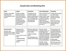 5 sales plan example writable calendar
