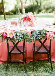 chair decorations 40 ways to decorate your wedding with floral garlands