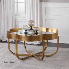 cydney gold coffee table by uttermost wolf and gardiner wolf